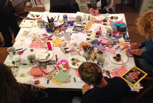 Making Art Together – The Traveling Postcards Project